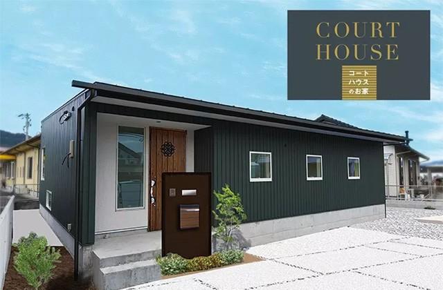 ベルハウジング 霧島市隼人町にて「中庭のある平屋 コートハウス」の完成見学会