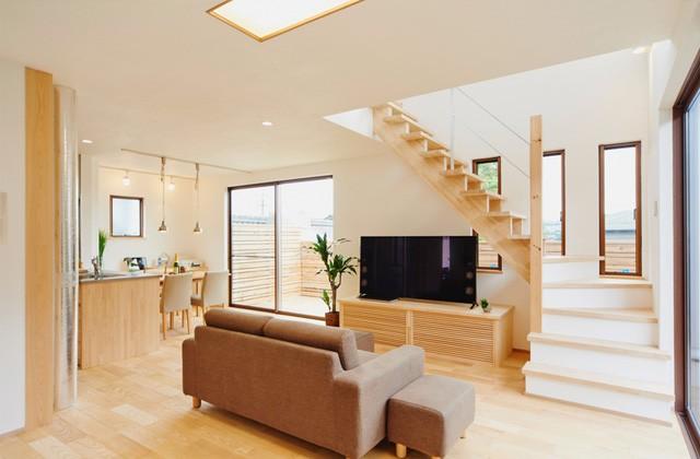 グッドホームかごしま 鹿児島市明和にて漆喰と無垢の家「ウッドライフハウス」実物見学会