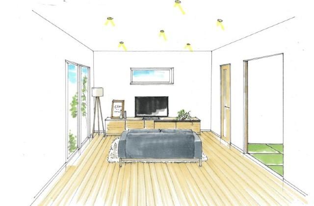 南さつま市加世田村原にて「ゆっくり過ごせる畳ダイニングのある家」の新築発表会【3/14,15】