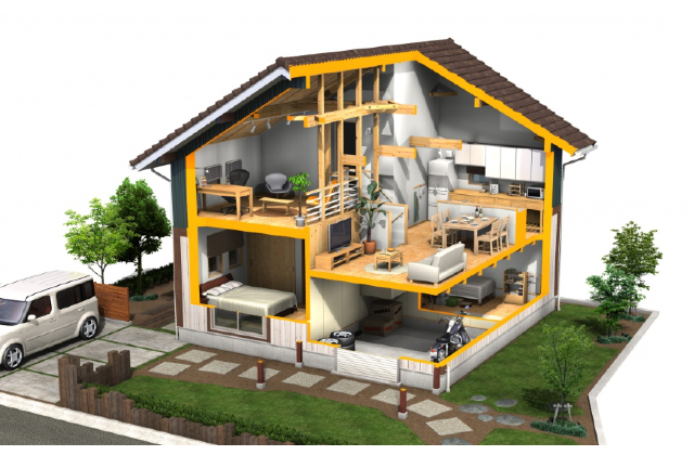 鹿児島市大明丘で建築中の「ALLenモデルハウス」にて構造見学会&上棟式を開催【4/19】