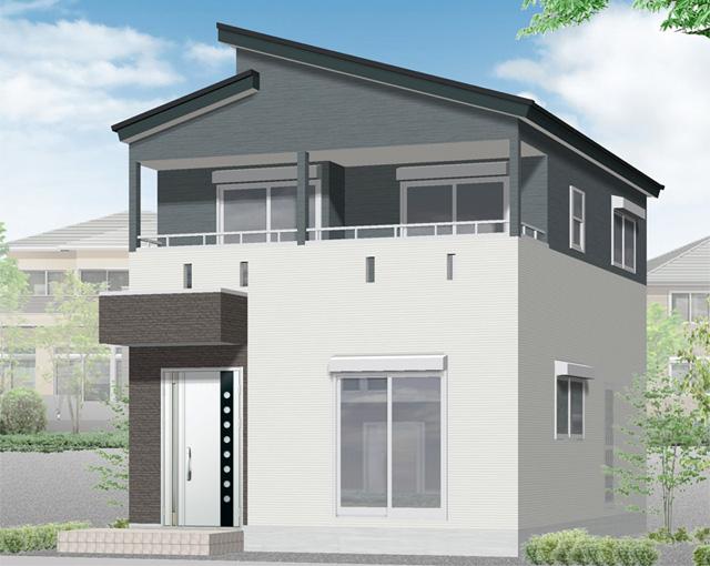 鹿児島市明和1丁目 ユウダイホームの建売住宅【2階建て】