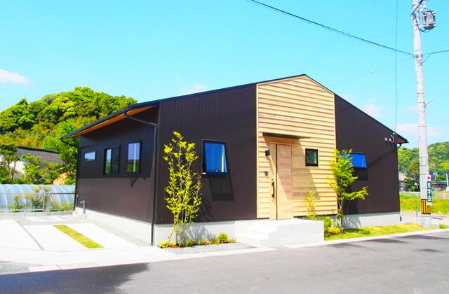 鹿児島市山田町 KURA収納のある28坪の平屋