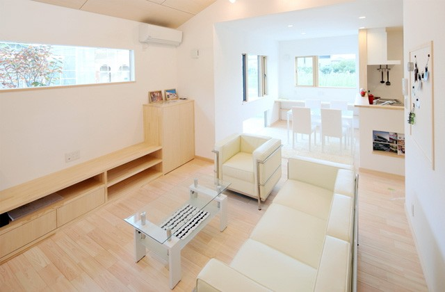 感動 中山ヒノキ分譲住宅 平面の生活動線と立体的な子どもたちの空間 (鹿児島市)