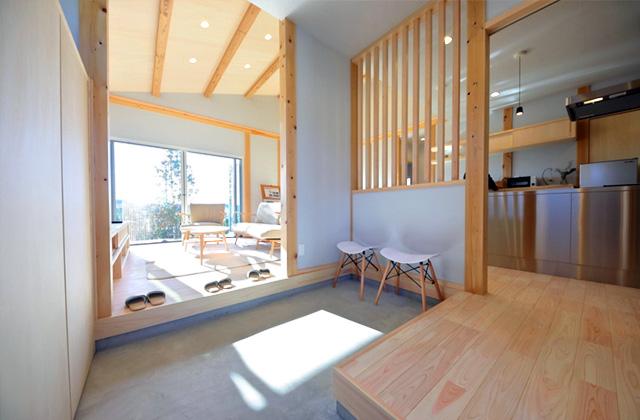 感動 アイリスガーデン吉野東 性能と素材にこだわった離れのある平屋モデルハウス