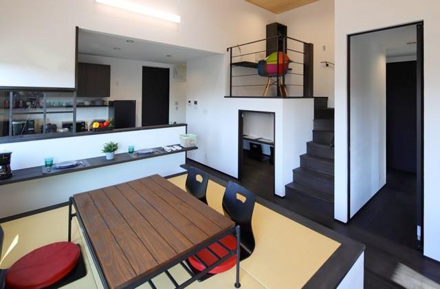 小上がり畳コーナー - 姶良モデルハウス「自然素材の健康住宅&IoTを駆使したスマートハウスな平屋」(姶良市)