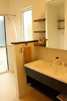 洗面スペース - 感動