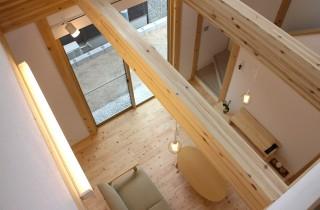 2階天井まで続く吹き抜け - 感動