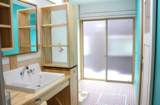 ドライルーム付き洗面スペース - 感動