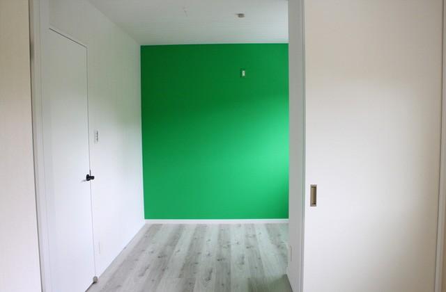 緑の明るい壁紙 - 感動