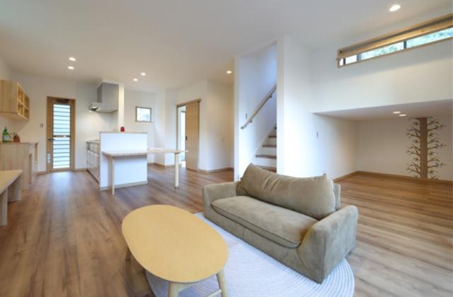 感動 KURA収納・中二階和室の多層空間で子供の成長を感じる家