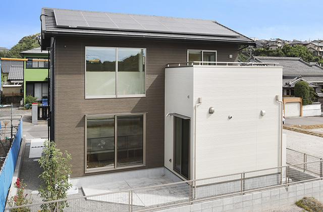 パルタウン大明丘モデルハウス 2階建 4LDK+吹抜け(No.4区画)「木のぬくもりと力強さを感じる住まい」ヤマサハウス