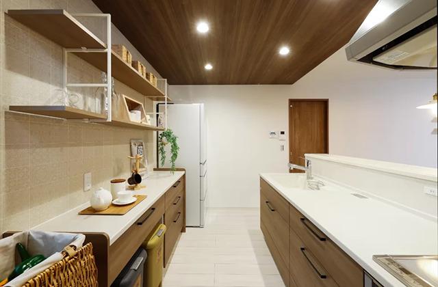 キッチン - 鹿児島北モデルハウス「月々3万円台〜、ローコストなのにおしゃれで高品質な家」(鹿児島市)