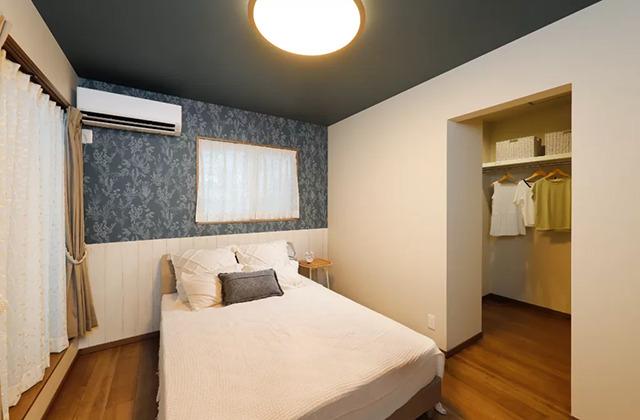 寝室 - 鹿児島北モデルハウス「月々3万円台〜、ローコストなのにおしゃれで高品質な家」(鹿児島市)
