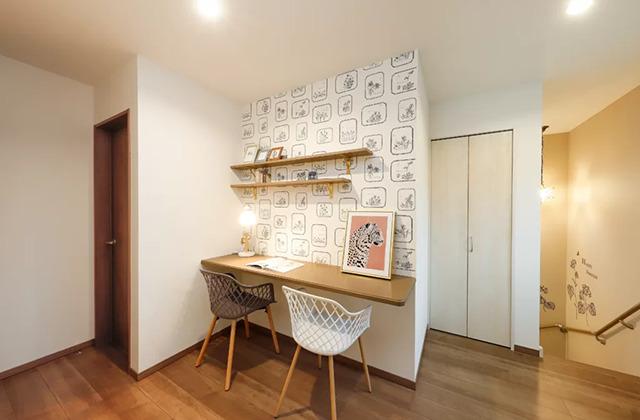 スタディスペース - 鹿児島北モデルハウス「月々3万円台〜、ローコストなのにおしゃれで高品質な家」(鹿児島市)