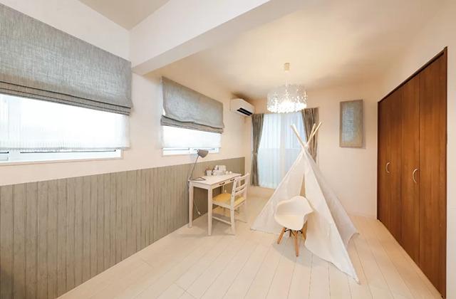 子ども部屋 - 鹿児島北モデルハウス「月々3万円台〜、ローコストなのにおしゃれで高品質な家」(鹿児島市)