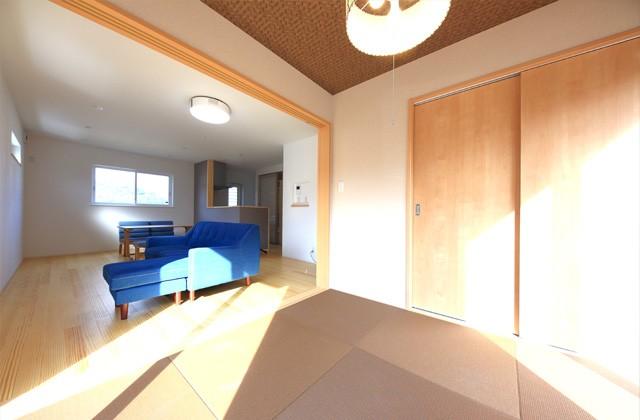和室 - 1階に和室のある北欧ナチュラルなお家 - 建築事例 - デザインカフェスタジオ