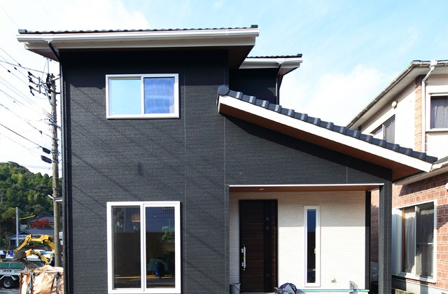 外観- 1階に和室のある北欧ナチュラルなお家 - 建築事例 - デザインカフェスタジオ