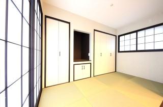 和室バリアフリー仕様の二世帯住宅は和風で優しいお家 - 建築事例 - デザインカフェスタジオ
