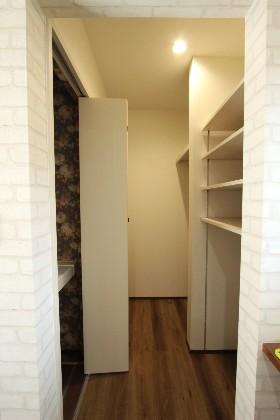 クローゼット 建築事例 デザインカフェスタジオ