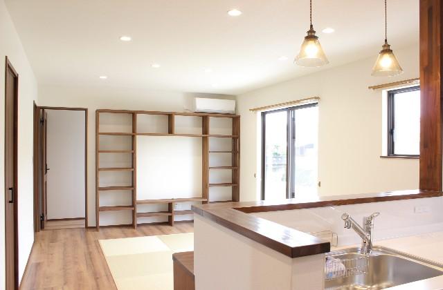 リビング 建築事例 デザインカフェスタジオ