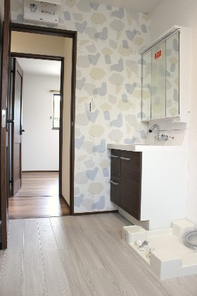 洗面 建築事例 デザインカフェスタジオ