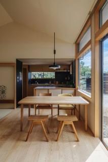 ダイニング - 「二つの屋根の家」(鹿児島市) - ベガハウスの建築事例