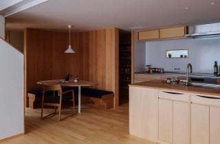 ダイニングキッチン - 「うけつぐ、光と緑」(鹿児島市) - ベガハウスの建築事例