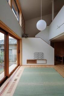 リビング - 「うけつぐ、光と緑」(鹿児島市) - ベガハウスの建築事例