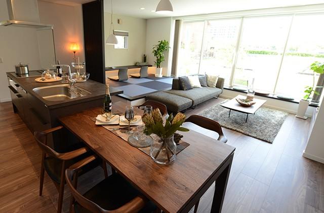 鹿児島市与次郎のモデルハウスでアイフルホームの品質・デザイン・性能を体感