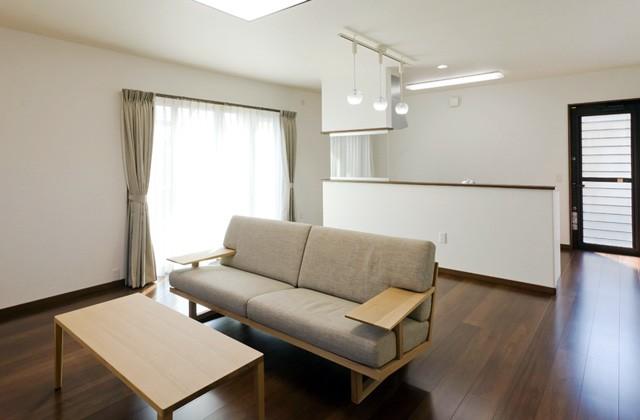 アイフルホーム 家族のふれあいと効率よい家事動線が特徴の自由設計セシボの家