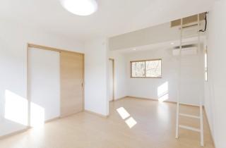 アイフルホーム 子供部屋は将来2部屋に仕切れるプランでロフト付き