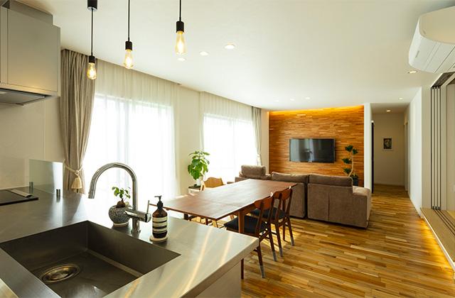 さまざまな要望を予算内で叶えたオールステンレスキッチンの平屋 - アイフルホーム - 施工事例