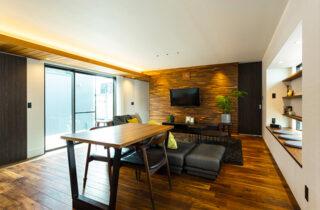リビング - 内装から家具までトータルにデザインした蔵のある平屋 - アイフルホーム - 建築事例