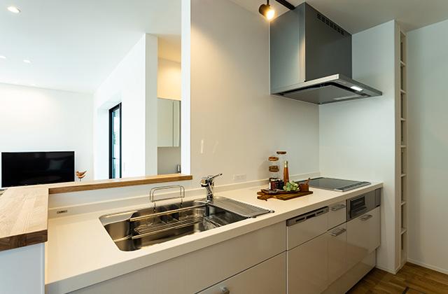 キッチン - アイフルホーム 売却型モデルハウス「繋がるすまい」 (鹿屋市寿3丁目)