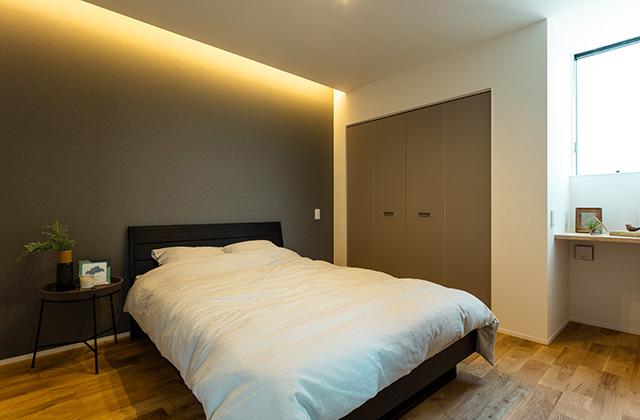 寝室 - アイフルホーム 売却型モデルハウス「繋がるすまい」 (鹿屋市寿3丁目)