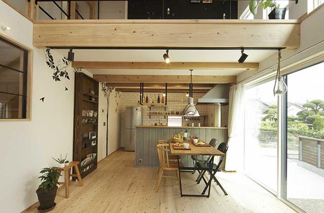 カフェみたいな雰囲気の好きなものに囲まれた非日常を感じられるお家 IAMUS