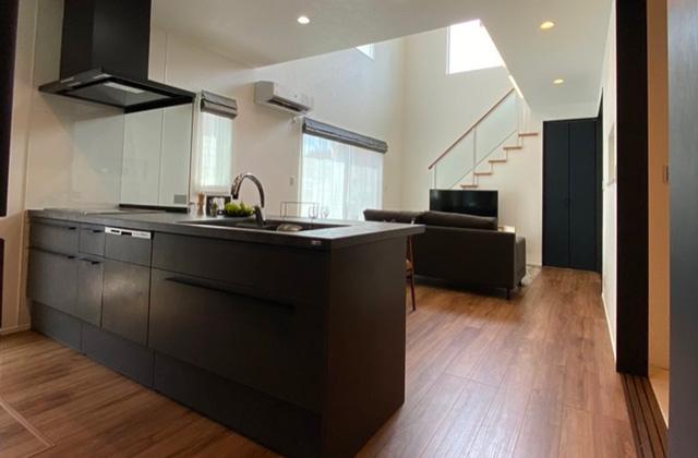 キッチン 谷山モデルハウス「家づくりに必要な設備・性能・保証 すべてコミコミのプレミアムフル装備住宅」(鹿児島市)