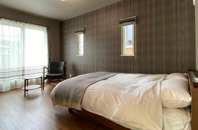 寝室 谷山モデルハウス「家づくりに必要な設備・性能・保証 すべてコミコミのプレミアムフル装備住宅」(鹿児島市)