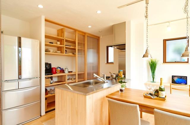 キッチン収納 - グッドホームかごしま 明和モデル
