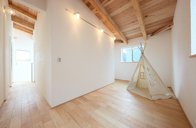 子供部屋 - グッドホームかごしま 坂之上モデルハウス