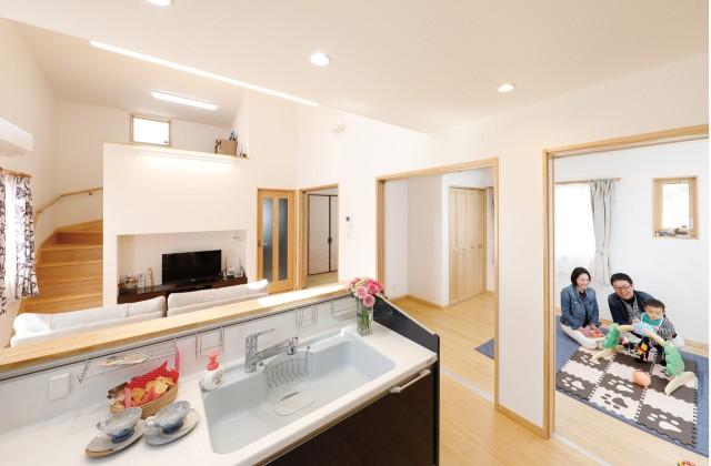 LDK 一年を通して快適さを実現!25坪の土地に建つ48坪の店舗付き住宅