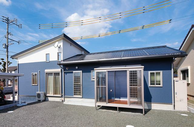 ハウスサポート 一年を通して快適さを実現する高性能住宅 3LDK+スキップフロアの平屋