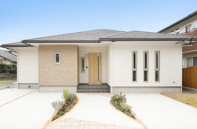 ハウスサポート 平佐分譲モデルハウス「家事を1/2にする設備でお母さんを助ける平屋の家」(薩摩川内市)