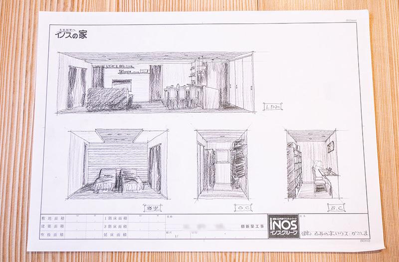さらに家の内装イメージも