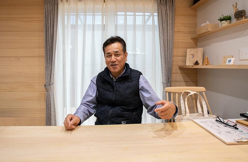 できないこと・するべきではないことを明言する竹下社長。誰よりもお客様を思っているからこその優しさです。