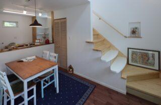 1階 - かわいい見た目だけじゃない塗り壁&第2のリビングになる土間のある家 - 施工事例 - JMC