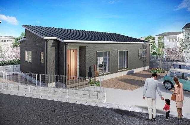 国分寺 4LDK 新築一戸建住宅 かえるホームの建売住宅【平屋】