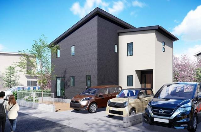 寿4丁目B 5LDK 新築一戸建住宅 かえるホームの建売住宅【2階建】