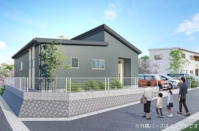 かえるホーム 中福良町 4LDK 新築一戸建住宅 かえるホームの建売住宅【平屋】