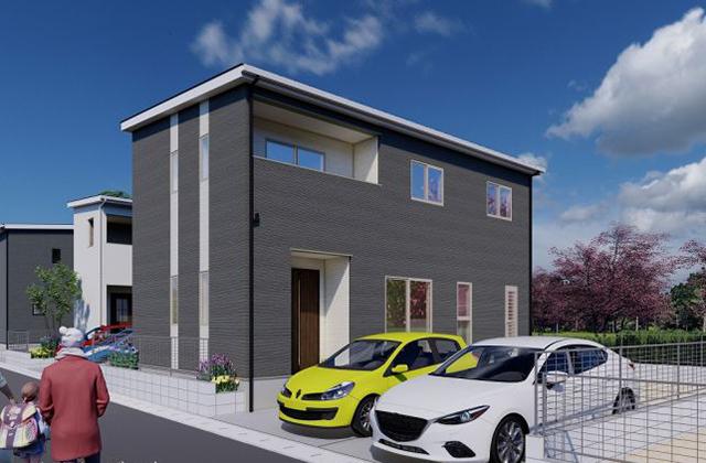 かえるホーム 姶良東餅田 新築一戸建「イオンまで徒歩7分の好立地の新築2階建て 」(姶良市)